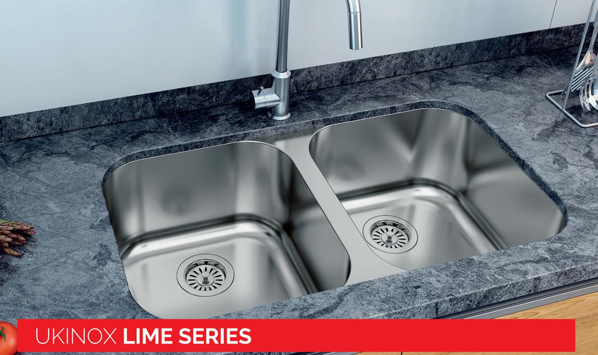 Lime Series Sinks, Ukinox USA Sinks, Stainless Steel Sinks on stone forest sinks, elkay sinks, native trails sinks, kohler sinks, vigo sinks, kindred sinks, faber sinks, oceana sinks, houzer sinks, porcher sinks, ronbow sinks, decolav sinks, xylem sinks, moen sinks, rohl sinks,